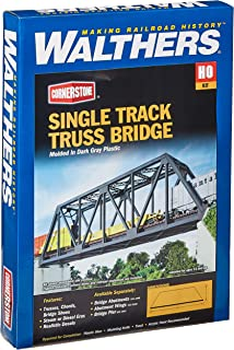 Walthers Cornerstone Series Kit HO Scale Single-Track Truss Bridge