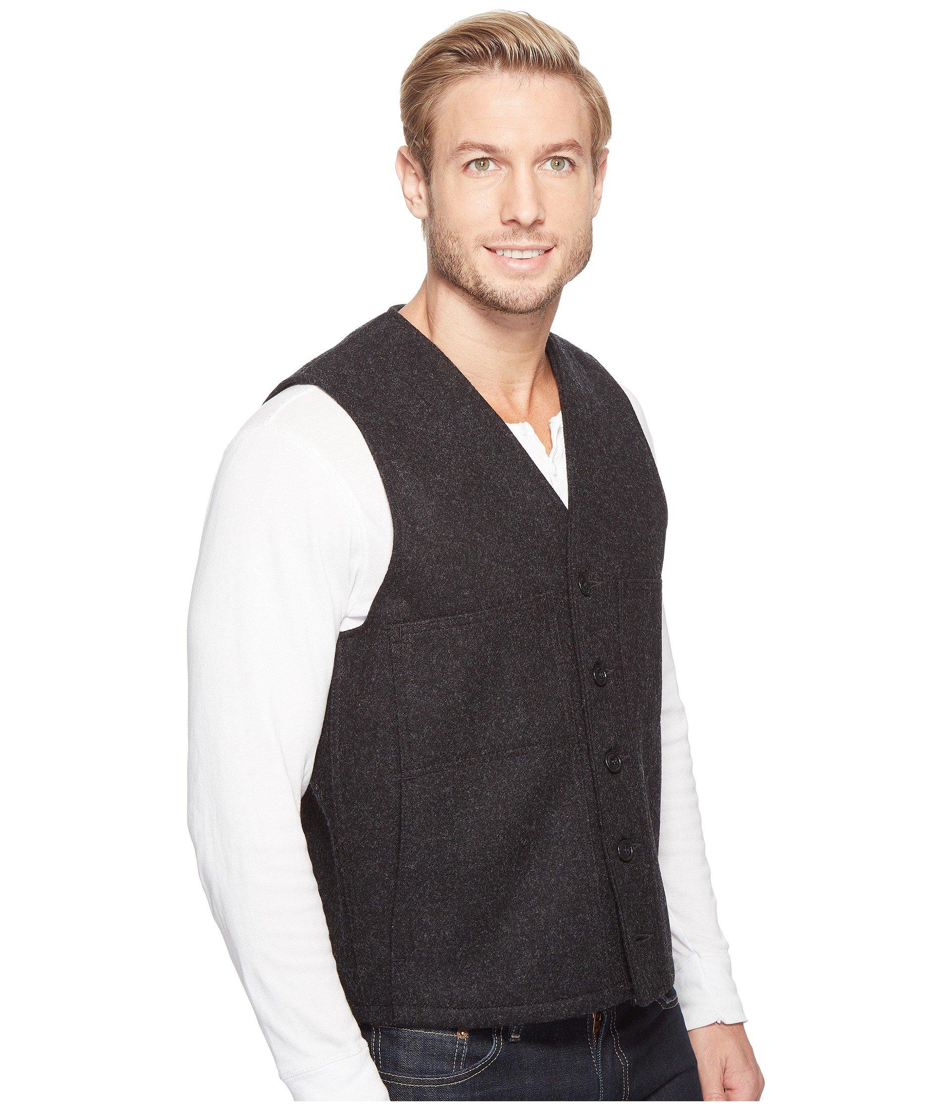 Mackinaw Filson Charcoal Filson Vest Wool Mackinaw w6q0T5XE
