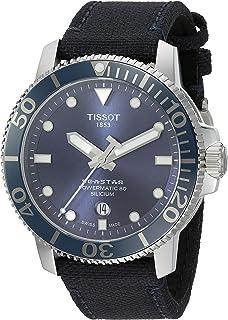 Tissot mens Seastar Ceramic Sport Watch Silver T1204071704101