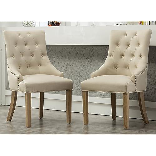 Wingback Chairs Set Amazoncom