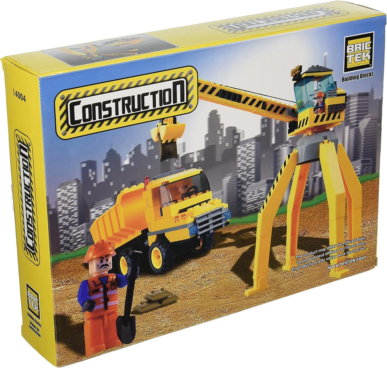 Brictek Crane with Truck Building Kit