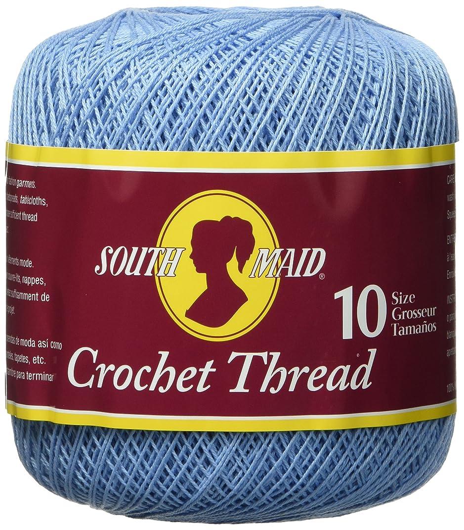 Coats Crochet South Maid Crochet, Cotton Thread Size 10, Delft Blue