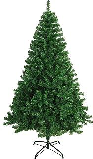 comprar comparacion Árbol de Navidad Artificial Extra Relleno Abeto Artificial C/Soporte Metálico 180-240cm (Verde, 180cm 617Tips)