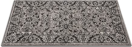 "Well Woven 22973 Sydney Vintage Carleton Grey Traditional French Country Oriental Accent Area Rug 2'3"" x 3'11"""