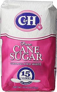 C&H Pure Cane, Granulated White Sugar, 10 lb