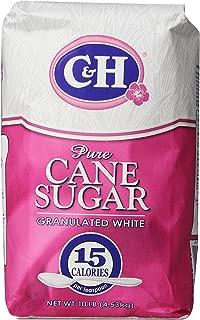 C&H Pure Cane Granulated White Sugar, 10 lb