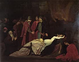 """The Reconciliation of The Montagues and Capulets Over The Dead Bodies of Romeo and Juliet by Lord Frederick Leighton - 20""""..."""