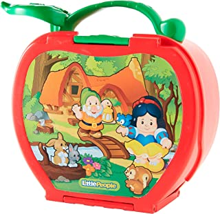 Fisher-Price Little People Magic Disney 米奇折叠玩具套装 18 months to 60 months Snow White's Fold 'N Go Apple 玩具套装 多色