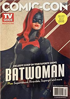 TV GUIDE COMIC-CON MAGAZINE - ISSUE # 93 2019 - BAT-WOMAN