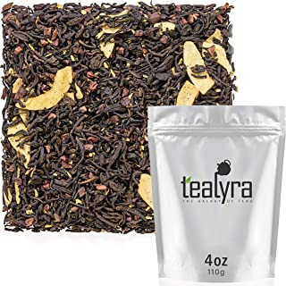 Tealyra - Pu-erh Coconut Cacao - Loose Leaf Tea Blend - Pu rh - Diet and Slimming Tea - Best Weight Loss Tea - Caffeine Bold - All Natural Ingredients - 110g (4-ounce)
