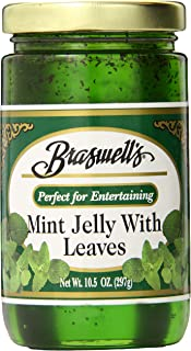 Braswell Jelly Mint Leaves, 10.5 Ounce (Pack of 6)