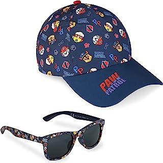 Paw Patrol Czapka z daszkiem i okulary przeciwsłoneczne dla dzieci - chłopięcy kapelusz przeciwsłoneczny i okulary przeciw...