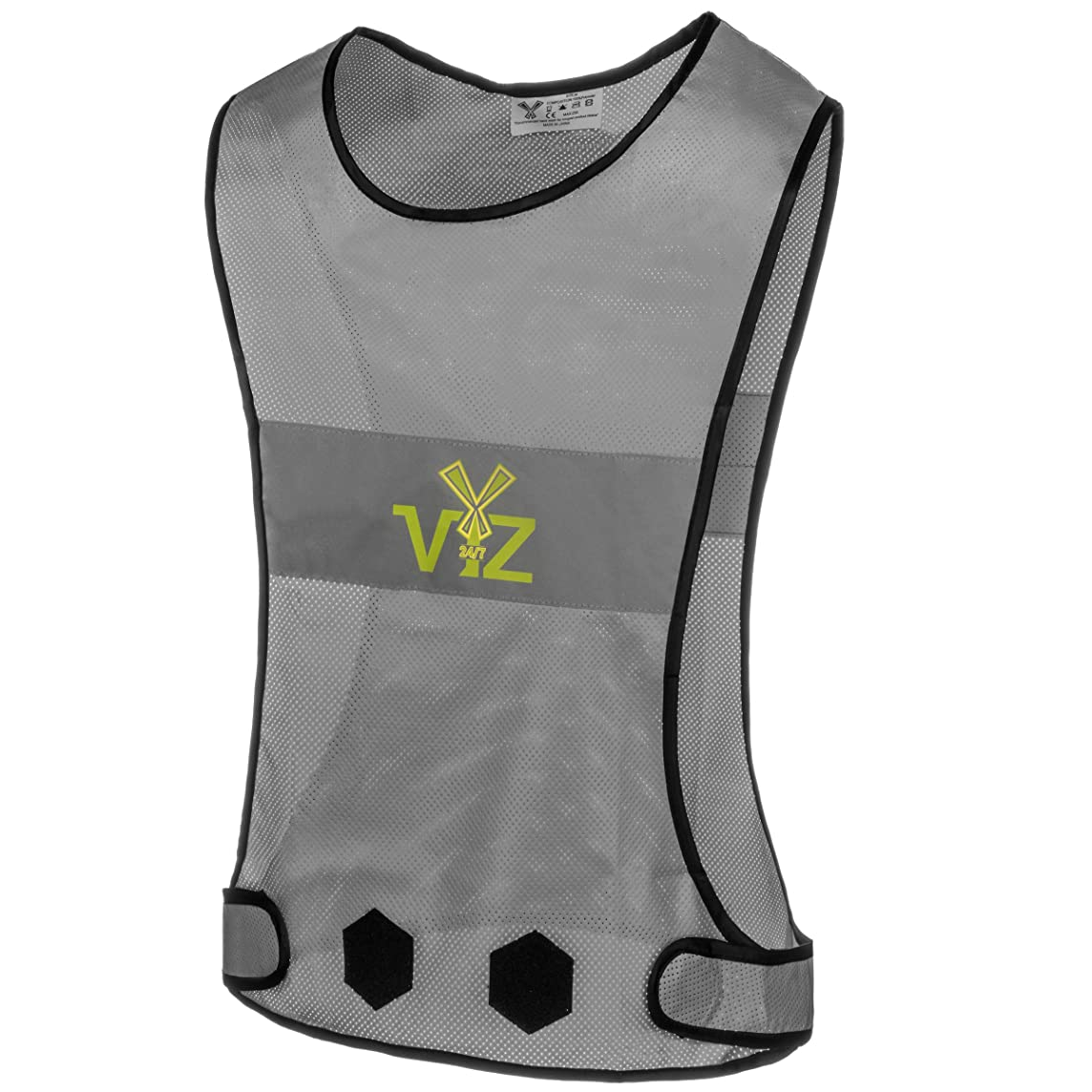 247 Viz Blaze - Reflective Vest 360 - Be Seen from All Angles While Running, Walking Jogging, Cycling, Horseback Ridding & on a Motorcycle, High Visibility with Full Reflective Surface Area
