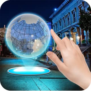 VR Hologram in City Joke