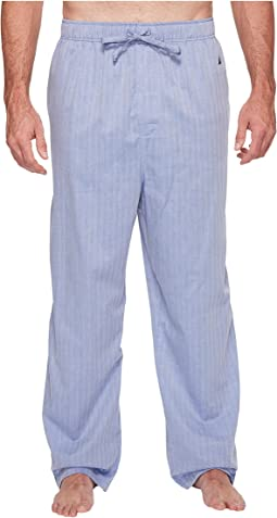 Nautica Big & Tall - Big & Tall Herringbone Plaid Sleep Pants