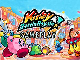 Clip: Kirby Battle Royale Gameplay