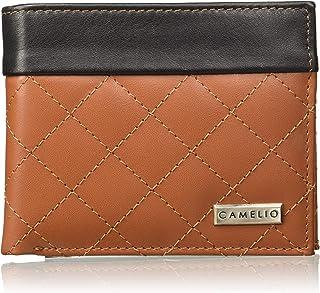 Camelio Black/Tan Men's Wallet (CAM-BL-052)