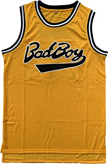 Stitched BadBoy #72 Biggie Smalls Movie Notorious Big Basketball Jersey