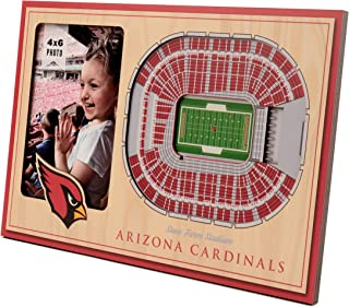 YouTheFan NFL 12'' x 8'' 3D StadiumView Frame: Picture Frame and 3D Artwork Combo