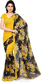 Anand Sarees Georgette Saree with Blouse Piece (1152_2_Multicoloured_Free size)