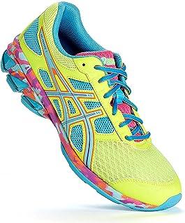 ASICS Women's Gel-Frantic 7 Running Shoe,Yellow/Grape/Pink,8 M US