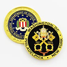 FBI Pope Francis Papal New York, Philadelphia, Washington DC Visit Challenge Coin
