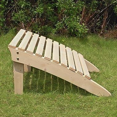 """Merry Garden Wood Ottoman Kit 24"""" D X 19.5"""" W X 14"""" H Wood"""