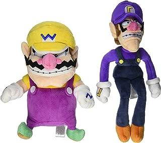 Little Buddy Mario Plush Doll Set of 2 - Wario & Waluigi