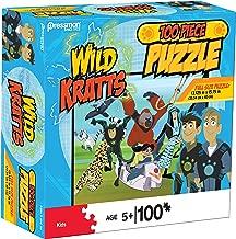 Pressman 10795-06 Wild Kratts Puzzle in Box, 100 Piece, 5