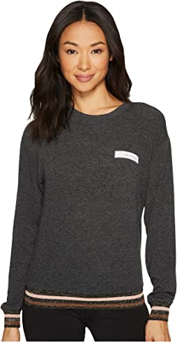Namaste Patch Crew Neck Savasana