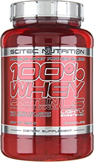 Scitec Nutrition Whey Protein Professional Lightly Sweetened proteína ligeramente endulzado chocolate 920 g