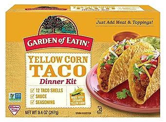 Garden of Eatin' Yellow Corn Taco Dinner Kit, 12 Count