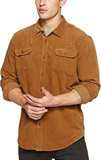 The Critical Slide Society Men's Lazy Bone Cord Shirt