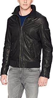 Men's New Zealand Lamb Leather Avaitor Jacket