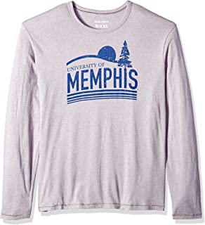 NCAA Men's Long Sleeve T-Shirt, Memphis Tigers, Large