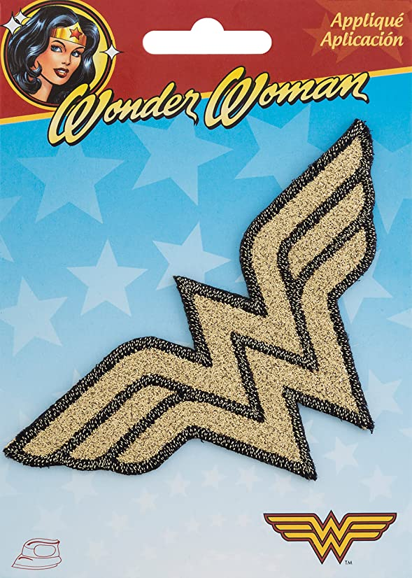 Wrights Wonder Woman DC Comics Iron-On Applique