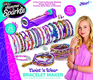 Cra-Z-Art Shimmer and Sparkle 3-in-1 Twist 'n Wear Jewelry 'n Fashion Maker