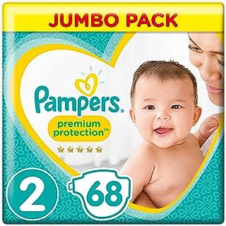 Pampers Premium Protection Lot de 72 couches pour b/éb/é Taille 1