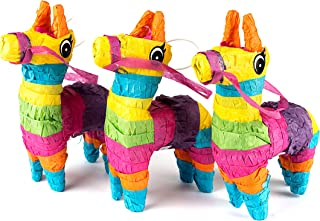 Neliblu Set of 3 Mini Donkey Pinatas 4