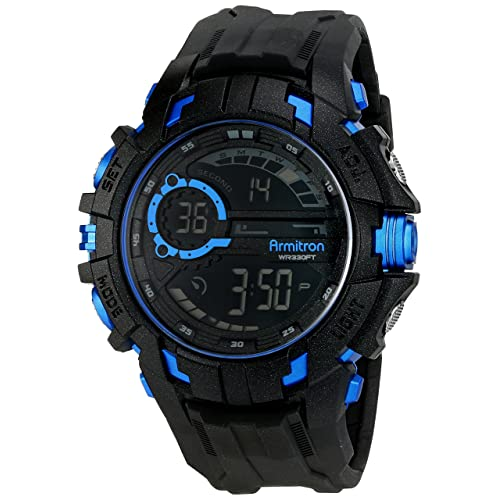 Armitron Sport Mens 40/8335 Digital Chronograph Resin Strap Watch