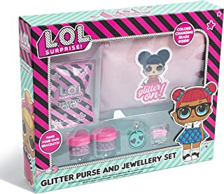 LOL Surprise- Set Creatividad bolsito Neceser Glitter Laberintos de Abalorios (New Import B07WF9BPX8)