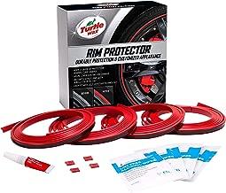 Turtle Wax 50698 Premium Rim Protector (Red, Set of 4)