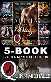 5-Book Shifter Mpreg Collection