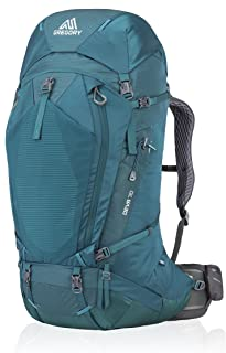 Gregory Mountain Products Women's Deva 70 Liter Multi Day Hiking Backpack | Backpacking, Camping, Travel | Rain Cover, Hydration Sleeve & Daypack, Durable Construction | Premium Comfort on the Trail