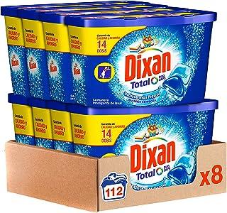 comprar comparacion Dixan Detergente en Cápsulas, 8 cajas de 14 Dosis, total 112 lavados
