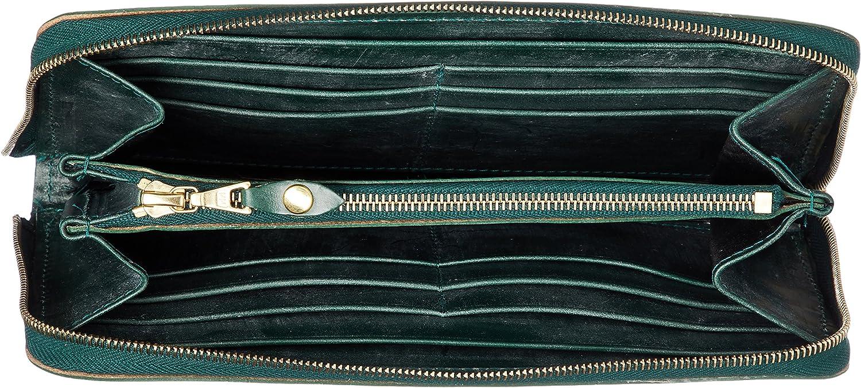 GLENROYAL ラウンドジップ長財布 の内装