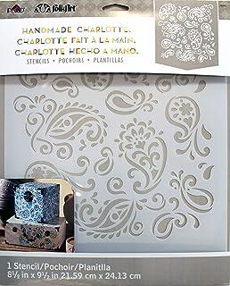 FolkArt Laser Cut Painting Stencil 30948 Paisley Delight