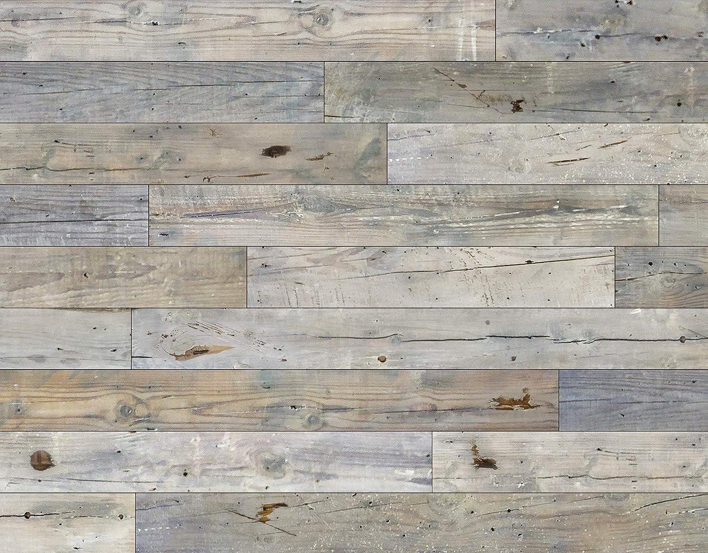 Novogratz Detroit Mall Reclaimed California Barn Wood - Large special price !! Insta Wall DIY Panels