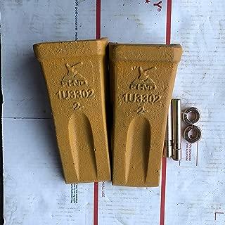 2 Pack 1U3302 1U-3302 Bucket Tooth & 5 9J2308 Pins 5 8E6259 ret FITS CATERPILLAR