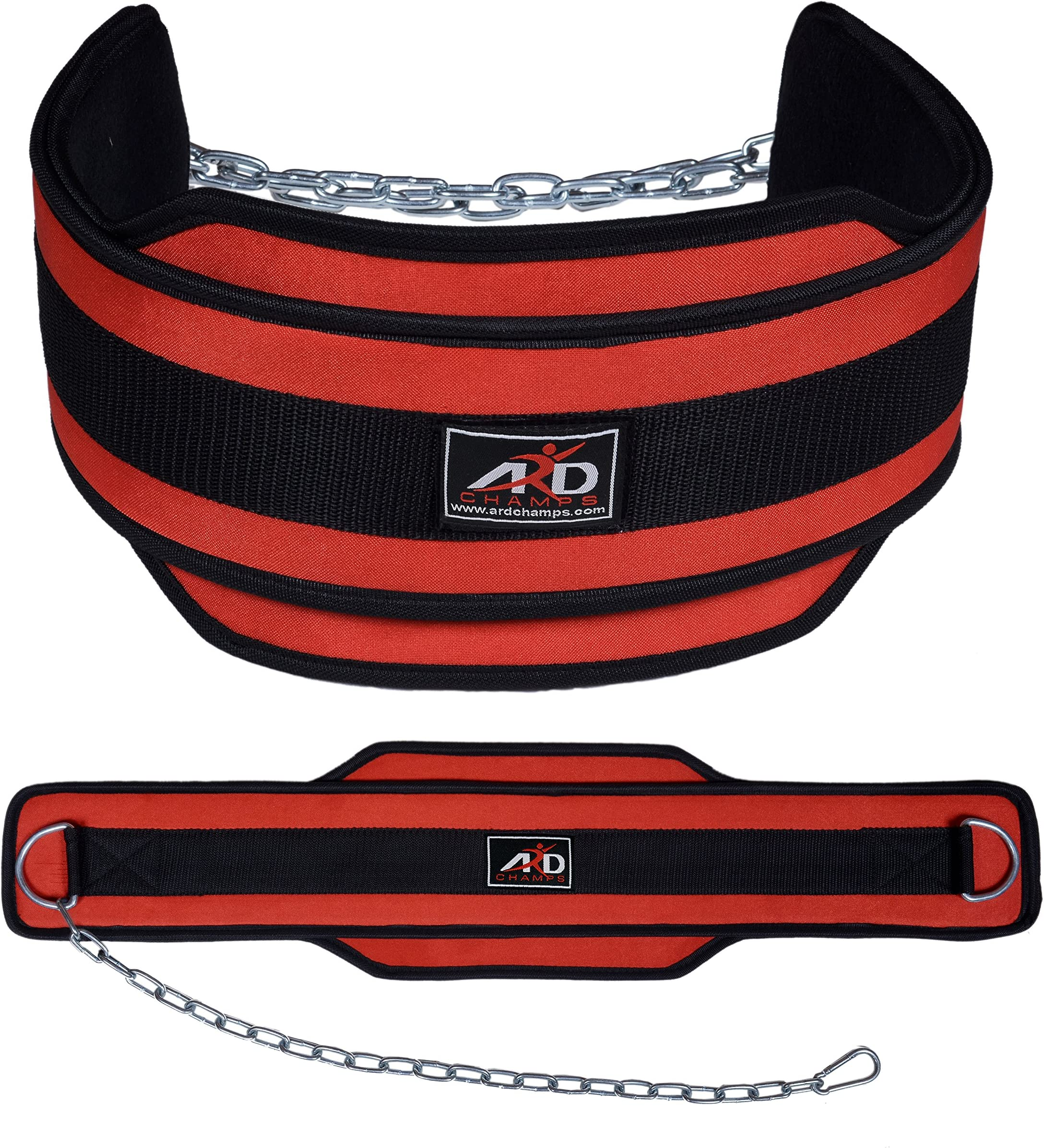 Details about  /Neoprene Chin Up Dipping Belt Protector Strap Weight Lifting Belt Waist Support